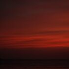 Dark Red - Boracay by Michael  Habal