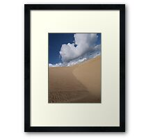 Endless Dune Framed Print