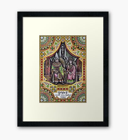 King Atanatar II Alcarin of Gondor Framed Print