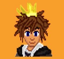 Gold Crown Hero Sora   Unisex T-Shirt