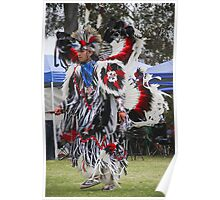 Pow Wow Dancer VII Poster
