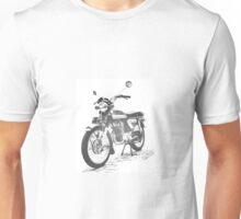CB 125 k5 Retro Motorcycle B$W Unisex T-Shirt