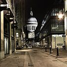 St Paul's Cathedral - London by Peter Tachauer