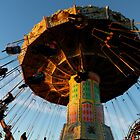 Amusement Park Swings by Rae Tucker