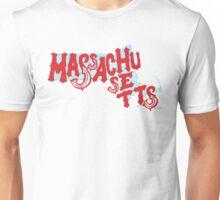United Shapes of America - Massachusetts Unisex T-Shirt