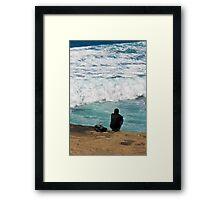 The Man & The Sea  Framed Print