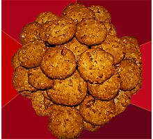 Yummy ANZAC Biscuits. Photographic Print