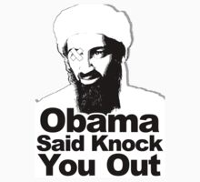 Obama Said Knock You Out by Terry  Parr