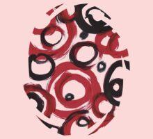 Circles Abstract Acrylic Art Painting Kids Clothes