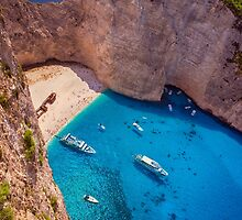 Navagio beach by DanielVijoi