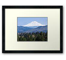 Mt. Adams Washington State Framed Print