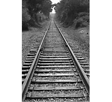 Railroad Tracks  Photographic Print