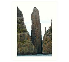TASMAN PENINSULA ~ The Candlestick and The Totem Pole by tasmanianartist Art Print
