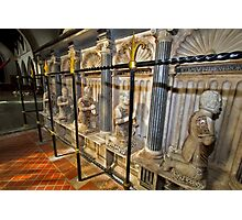 Tomb of the 9th Baron of Cobham Photographic Print