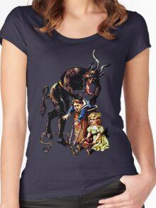 Krampus v Women's Fitted Scoop T-Shirt