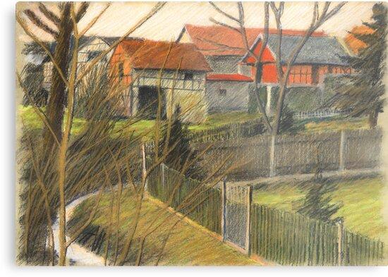 in den Gaerten by HannaAschenbach