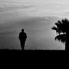 A man that walks alone by luckylarue