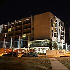 Hotel Realm, Canberra (by night) by Property & Construction Photography