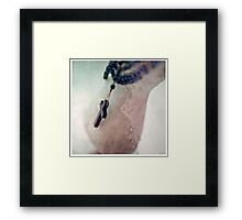 you gotta have faith II Framed Print