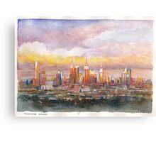 Melbourne Awakes Canvas Print
