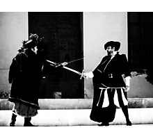 The Duel... Photographic Print