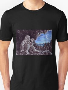 Troll sat alone on his seat of stone T-Shirt