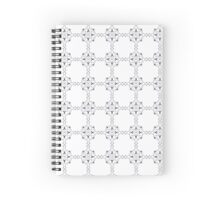 squared Spiral Notebook