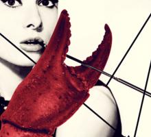 Audrey was a Crustacean. Sticker