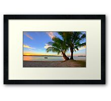 Paradise on the Noosa River Framed Print