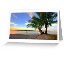 Paradise on the Noosa River Greeting Card