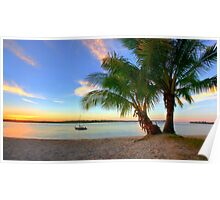 Paradise on the Noosa River Poster