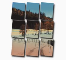 Hiking on a winter afternoon | landscape photography Baby Tee