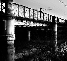 Railway Bridge, Bedford by Chris Hageman