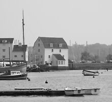 Woodbridge harbour scene by TonyGeary