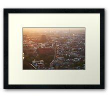 Berlin from Fernsehturm Framed Print