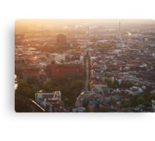 Berlin from Fernsehturm Canvas Print