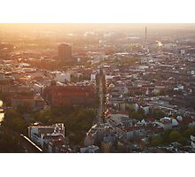Berlin from Fernsehturm Photographic Print