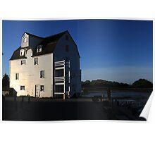 Tide Mill at Dawn 2 Poster