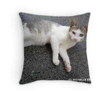 TARSIER LOUNGING Throw Pillow