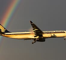 Singapore Airlines 9V-STQ by George Grimekis