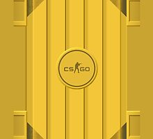 CSGO | Yellow Case by archanor