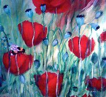 """Red Poppies"" by Gabriella Nilsson"
