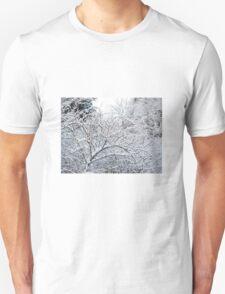 Winter scene Unisex T-Shirt