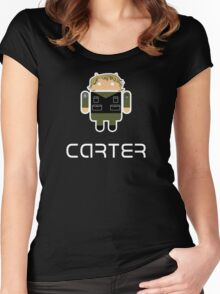 Droidarmy: Sam Carter SG-1 Women's Fitted Scoop T-Shirt