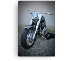 bling rider Canvas Print