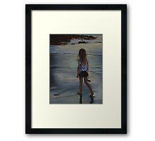 Twilight Dreamer Framed Print