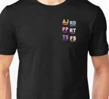 My little Pony - Initials Elements of Harmony - Black Unisex T-Shirt