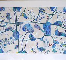 Secret Garden blue by CRLawrence