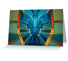 Portal Butterfly Greeting Card