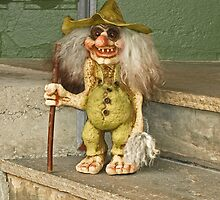 The Troll on the Stairs by Lee d'Entremont